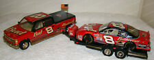Dale Earnhardt Jr #8 Budweiser Trackside (Action) 1:24 Car, Crew Cab & Trailer