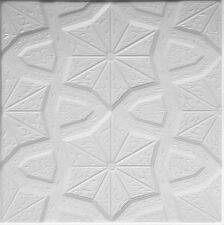 Polystyrene Glue Up Ceiling Tile #RM-86 (48pcs~130sq.ft) Cheap DIY popcorn cover