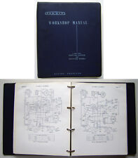 Commer PA ¾ and 1 ton original ring bound Workshop Manual