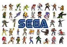 XBOX ONE PS3 PS4 PC GAME SEGA GENISIS HEROES A3 ART PRINT POSTER GZ5624