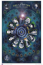Poster DOCTOR WHO - Gallifreyan Calendar ca60x90cm NEU 58157