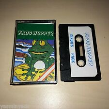 FROG HOPPER - DIXONS PACK - CASSETTE - ZX SPECTRUM - 1984 - TESTED - VGC