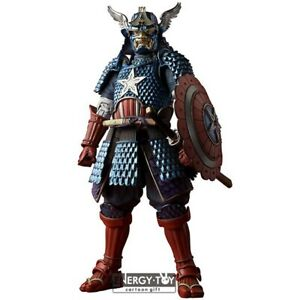 "6.3""Marvel Samurai Captain America BAN DAI PVC Action Figures Collectible Statue"