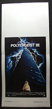 LOCANDINA CINEMA - POLTERGEIST III - T. SKERRIT - 1988 - HORROR
