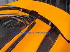 McLaren 720s Carbon Fiber Complete Rear Deck Aero Bridge Vents (4pc kit)