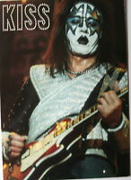 KISS - Ace Frehley Original Collectable Postcard OFFICIAL New Old Stock