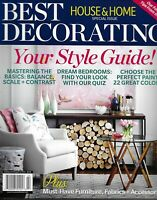 Best Decorating House And Home Magazine Special Issue Style Guide Fabric Paint