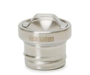 Klean Kanteen   Bottle Loop Cap   Stainless / Black / Green