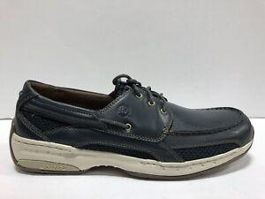 Dunham, Captian Mens Boat Shoe Navy 11.5 2E