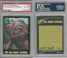 1964 Bubbles Inc, Outer Limits, #19 The Sea Beast Strikes, PSA 6 EXMT