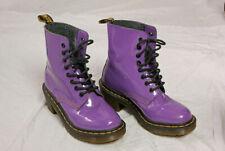 Dr Martens Clemency Raised Heel Purple 8 Hole Size UK 3 EU-36 V.G.C !!!