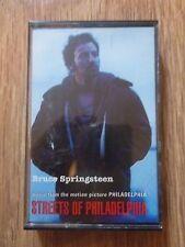 BRUCE SPRINGSTEEN - STREETS OF PHILADELPHIA - SINGLE CASSETTE ALBUM 2 TRACKS