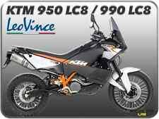 TERMINALI DI SCARICO LEOVINCE LV ONE INOX KTM 950 ADVENTURE /  990 ADVENTURE