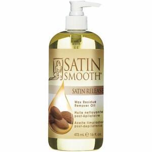 Satin Smooth Satin Release Wax Residue Remover Oil 16 oz