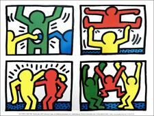 Keith Haring Art Prints Paper