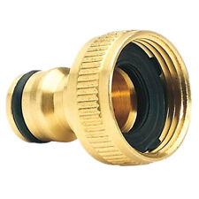 Brass Garden Hose Tap Connector (3/4) Quick Hose Adaptor Accessories Economic