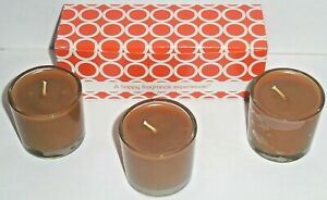 ~3~ GOLD CANYON 1.7 OZ ~ SALTED CARAMEL APPLE ~ SMALL CANDLE ~ FREE SHIPPING ~