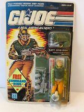 GI Joe CAPT. GRID-IRON 1989 ARAH Vintage Cobra Never Opened Action Figure