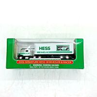 2006 Hess Miniature 18 Wheeler & Racer 072907105065
