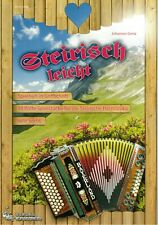 Steirische Harmonika Noten : Steirisch leicht - Spielheft GRIFFSCHRIFT ANFÄNGER