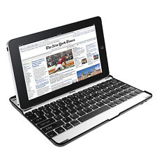 Ultra-thin Aluminum Wireless Bluetooth Keyboard Case Cover For ipad 2/3/4 US