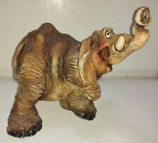 Vintage Anthropomorphic Elephant Resin Material