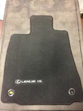LEXUS IS250/350 2015-2017 4PC BLACK FLOOR MATS WITH RED STITCH PT206-53147-29