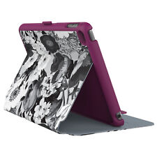 Speck Stylefolio iPad Mini 4 Vintage Bouquet Nickel Grey Boysenberry Purple
