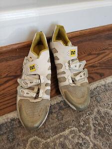 Mavic Energy Full Carbon SL Cycling Shoes White Size 10 1/2 10.5 EUR 44 2/3
