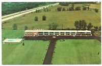Martinsburg West Virginia Postcard Aerial View Of Motel 81 On Hwy I-81 #77036