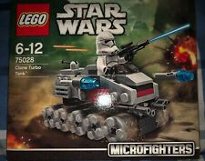 Lego Star Wars Microfighters 75028 Clone Turbo Tank. Brand New And Sealed