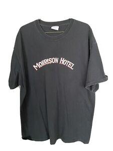 Vintage The Doors Morrison Hotel Album T-Shirt Size XL