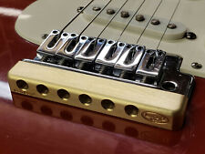 """Machined Brass SUSTAIN Bar for Tremolo """"THE FAT BOTTOM"""" -- USA MADE - Fits Strat"""