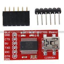 3.3V 5V FT232RL FTDI USB 2.0 A TTL Módulo Adaptador Serial Para Puerto Mini Arduino