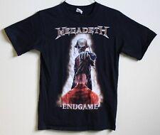 MEGADEATH!!  Endgame Vic w/ Prisoner Barcode Black T-Shirt SIZE SMALL ROCK METAL
