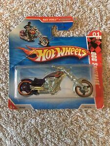 HotWheels 2010 191 Occ Spliback Motorbike - Possible Scale 1:64 - NEW