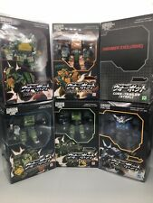Transformers Fansproject Warbot 001 002 004 005 006 002ex CIB CORE DEFENDER LOT