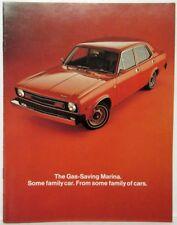 1974 Austin The Gas Saving Marina Sales Folder