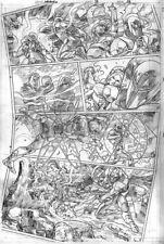 Bennett AQUAMAN 39 pg 9 SUICIDE SQUAD SEXY HARLEY QUINN + KILLER CROC & DEADSHOT