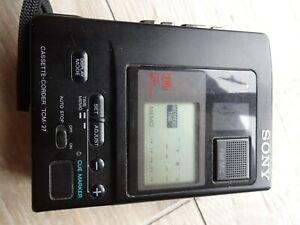 Enregistreur à cassette SONY TCM-27 à l'état neuf