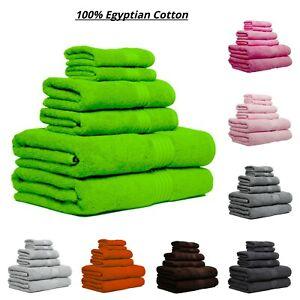 100% Egyptian cotton super soft 600 GSM towels hand bath towel sheet Face Cloths