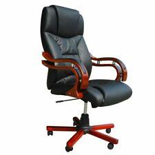 vidaXL Bureaustoel Directie S220 Zwart Bureau Kantoor Stoel Stoelen Directeur