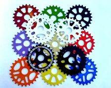 25T & 28T BMX FREESTYLE BICYCLE SPROCKETS, HI-TENSILE STEEL, * FAST SHIPPING