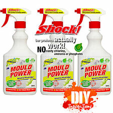 OzKleen Mould Power 3pk 500ml Spray Household Germ Kill Mould Killer Cleaner