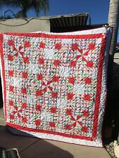 HANDCRAFTED QUILT KING/QUEEN SIZE