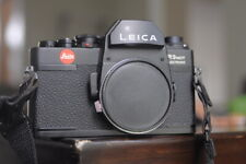 Leica R3 MOT electronics camera body only with Body cap and strap