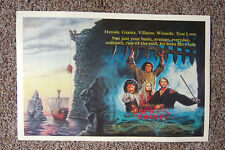 The Princess Bride Movie poster Lobby #2 Peter Faulk Andre the Giant Billy Crys