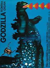 GODZILLA VS. GIGAN Movie POSTER 11x17 Polish Hiroshi Ishikawa Yuriko Hishimi