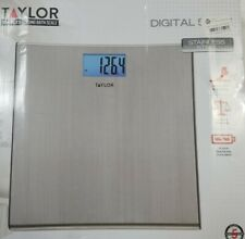 NEW Digital Thin Stainless Steel Bathroom Scale - Taylor 7403 Scale