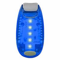 Blue LED Safety Light Night Clip On Waterproof Flashing Running Cycling Bike